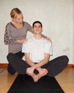 étirement des adducteurs et travail postural